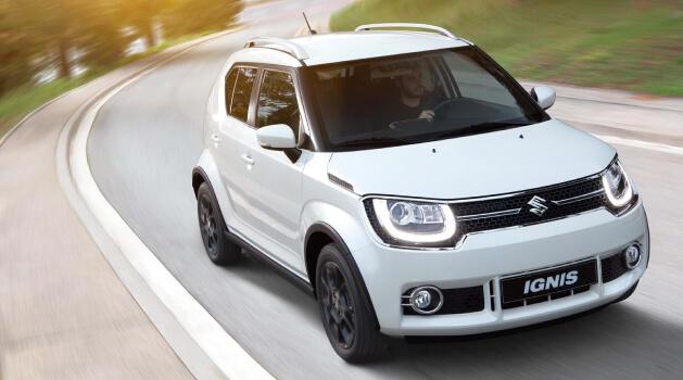 White Suzuki Ignis