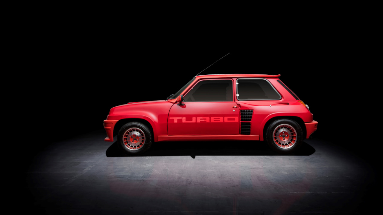 Renault 5 Turbo Sideview
