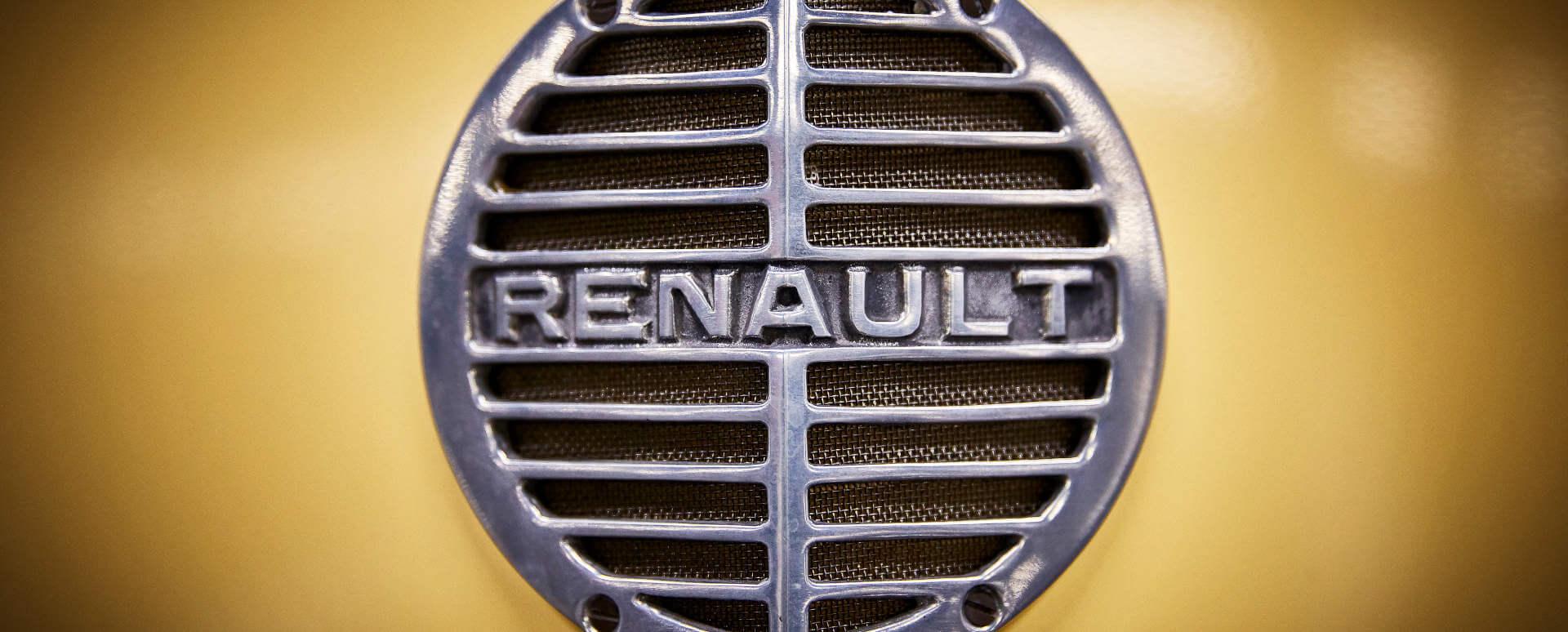 Original Renault Badge