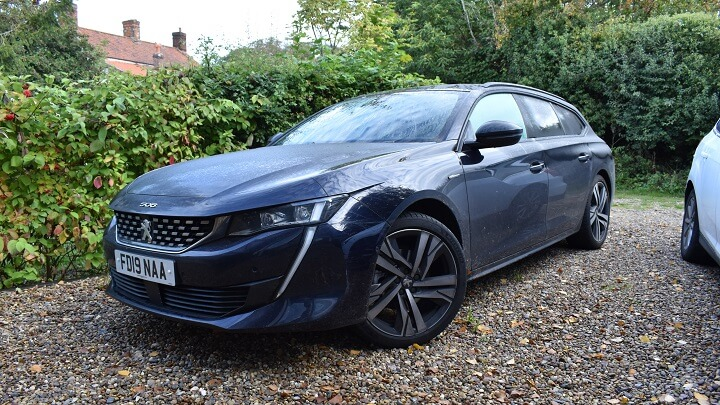 Peugeot 508 front angle