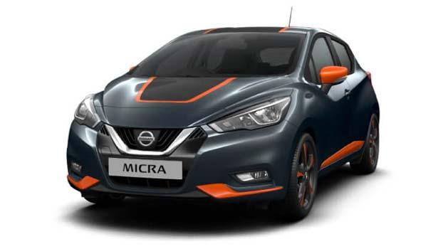 Black Nissan Micra