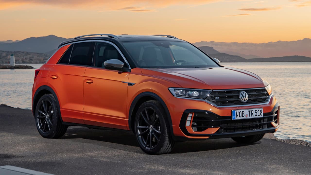 VW T-Roc R Static