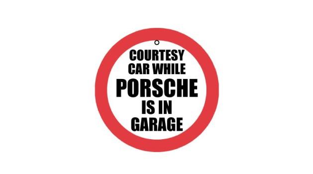 Courtesy car air freshener