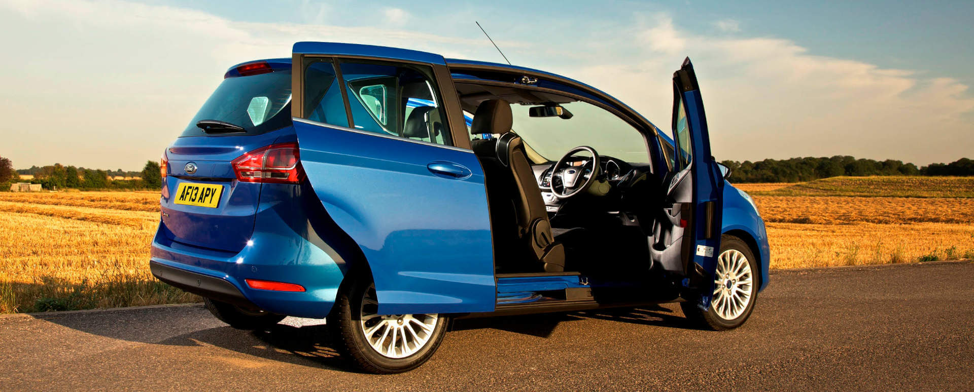 Ford B-MAX with Sliding Doors