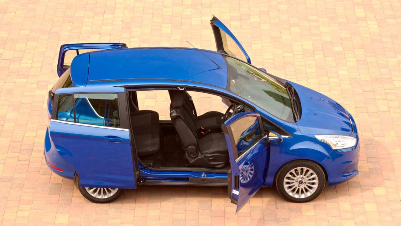 Ford B-MAX: Sliding Doors Open