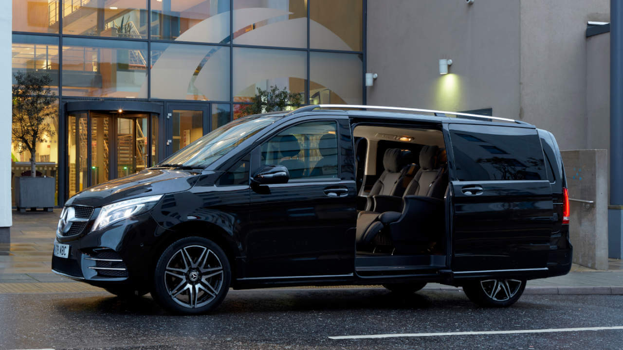 Mercedes-Benz V-Class with Sliding Doors