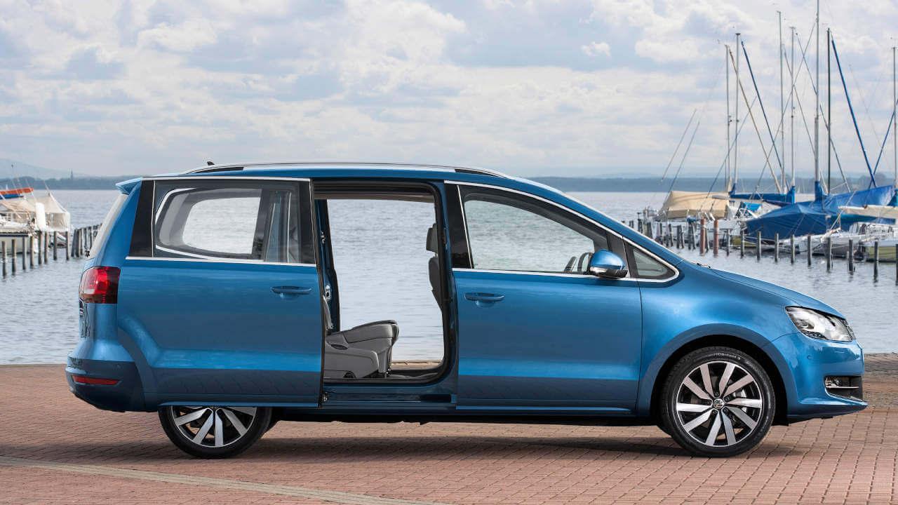 Volkswagen Sharan, Sliding Doors Open