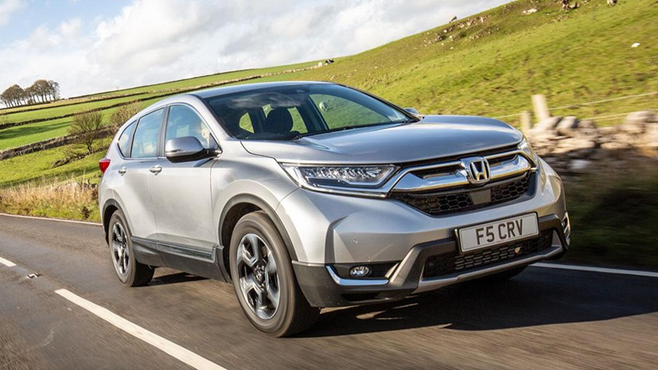 Grey Honda CR-V