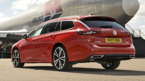 Vauxhall Insignia Estate Rear