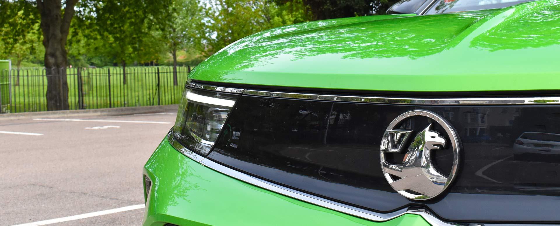 Vauxhall mokka vizor