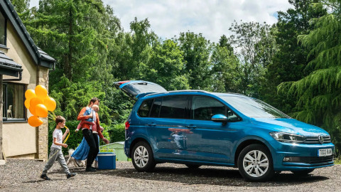 Volkswagen Touran Family Trip