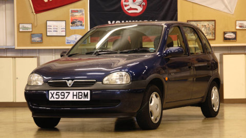 1993 Vauxhall Corsa B