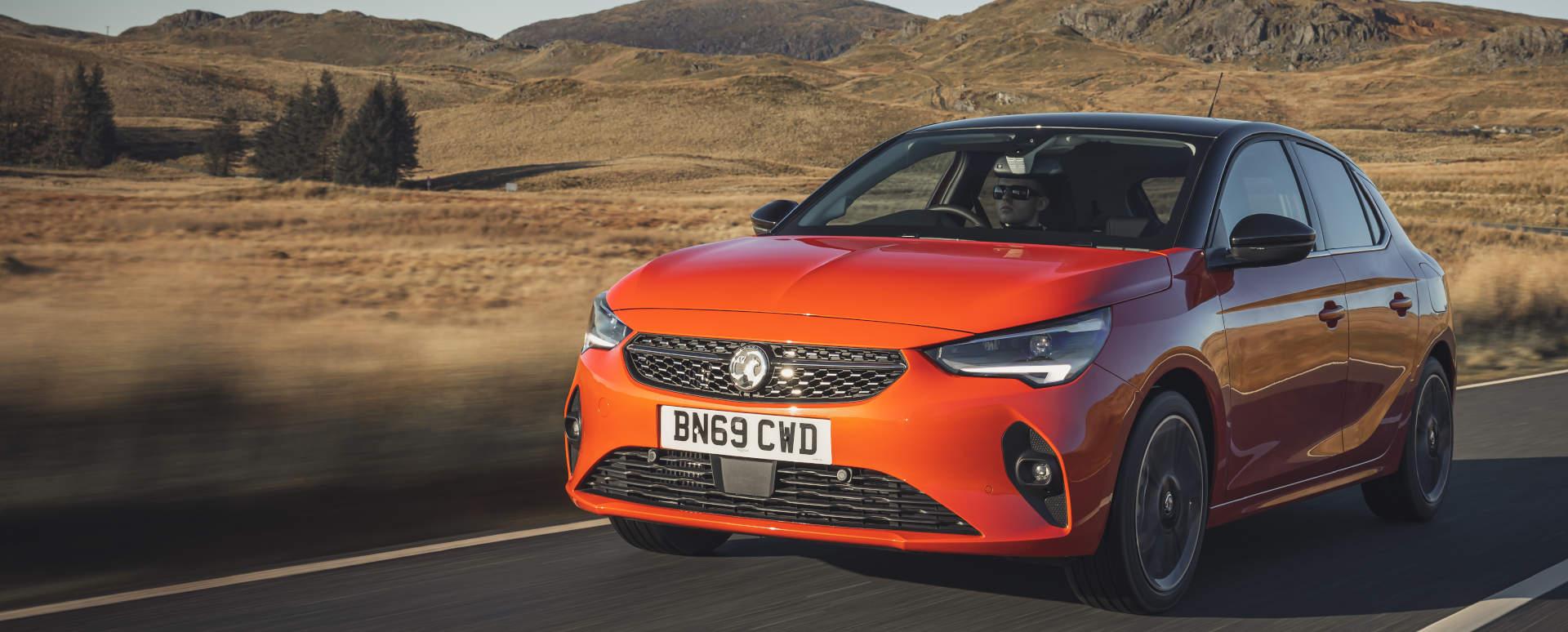 2020 Vauxhall Corsa F: Driving