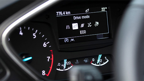 ford focus drive modes, eco
