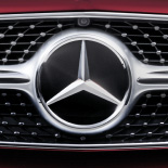 Mercedes-Benz bonnet badge