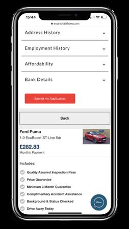 Online Finance Application