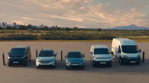 Citroen Hybrid and Electric Range