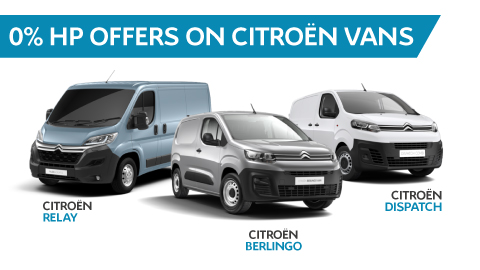 0% APR Finance on Citroen Vans