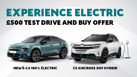 Citroen £500 Test Drive Offer