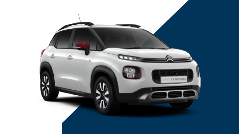white citroen c3 aircross