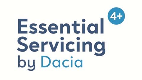 dacia essential service