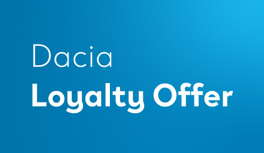 dacia loyalty offer