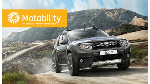 Dacia Motability