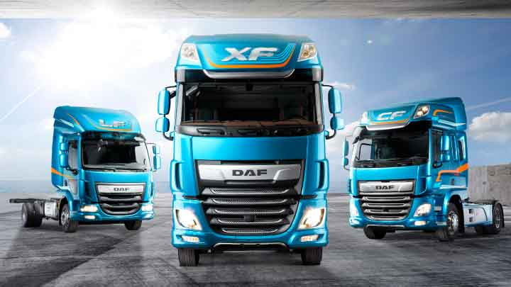 New DAF trucks