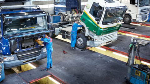 DAF Truck Servicing Workshop