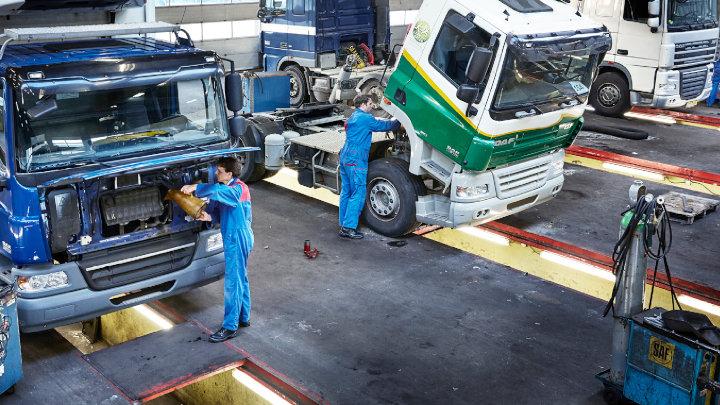 DAF Truck Servicing Workshop
