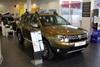 Dacia Duster in Dacia Sheffield showroom