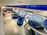 Cars inside the Ford Glasgow showroom