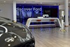 Inside the Ford Lincoln dealership