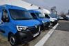 Renault vans outside the Middlesbrough dealership