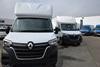 White Renault vans