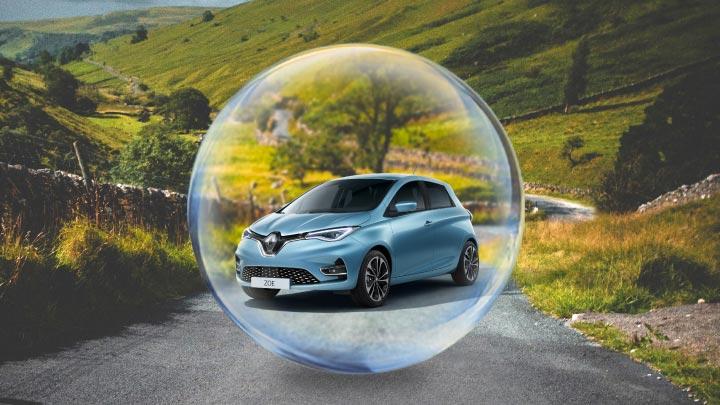Electric Hybrid Bubble