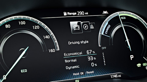 Kia XCeed PHEV Dashboard