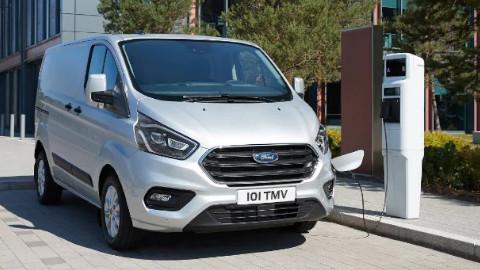 Ford Transit PHEV Charging