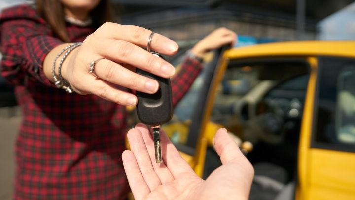 Car Key Handover
