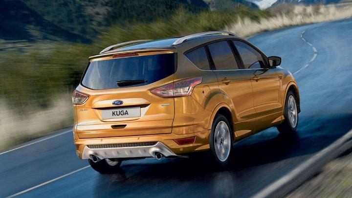 Ford Kuga: Driving