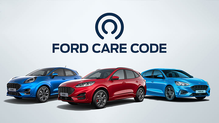 Ford Care Code Header