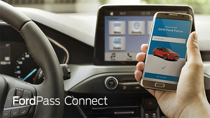 FordPass Smartphone Application