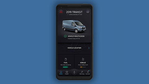 ford pass pro app on smartphone