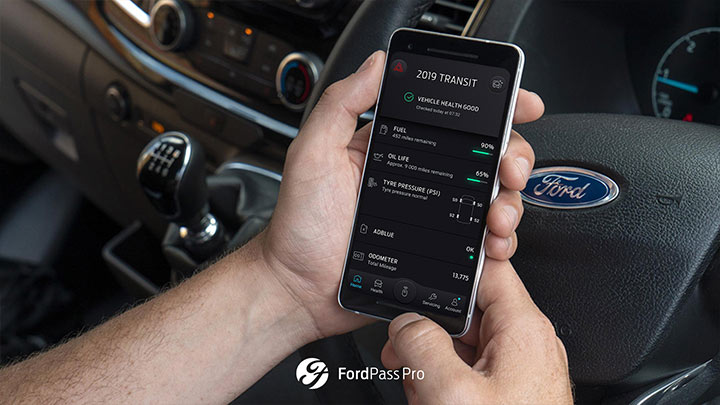 Ford Pass Pro Smartphone