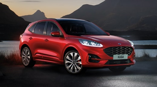 All-New Ford Kuga in red