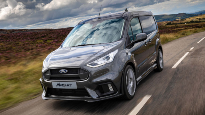 Ford Transit Connect MS-RT: Driving, Front