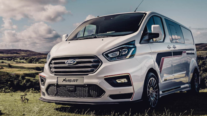 Ford Transit Custom MS-RT: Front