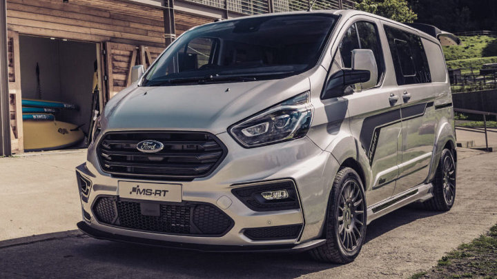 Ford Transit Custom MS-RT: Silver
