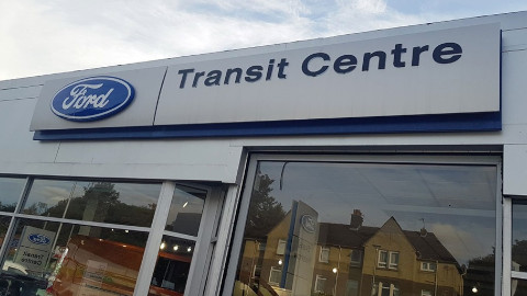 Ford Transit Centre Signage