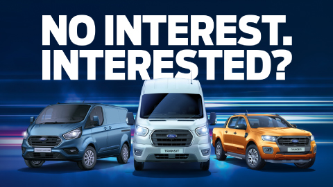 Ford Commercial Vehicles 0% APR Finance Promotion